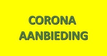 CORONA AANBIEDING