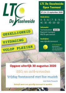 Open toernooi 2020 flyer